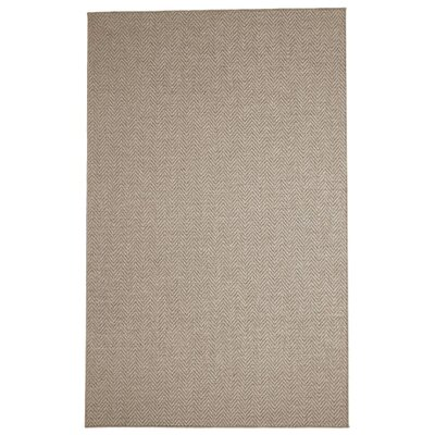 Patel Brown Area Rug Rug Size: 5 x 8