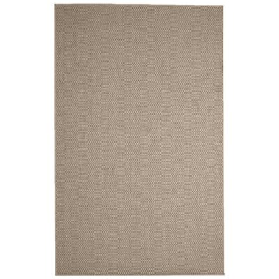 Paray Brown Area Rug Rug Size: 10 x 14