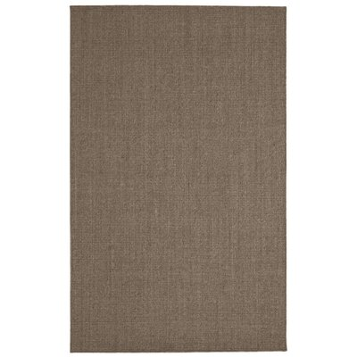 Paton Brown Area Rug Rug Size: 5 x 8