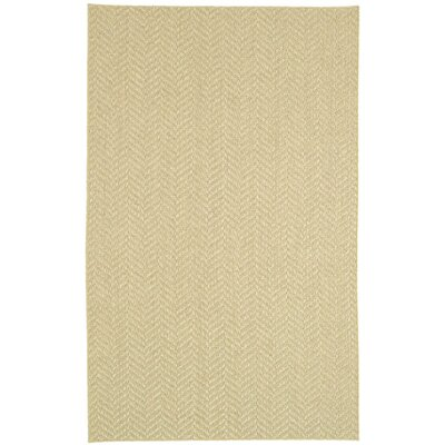 Paige Natural Area Rug Rug Size: 5 x 8