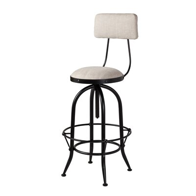 Macdougal Adjustable Height Swivel Bar Stool