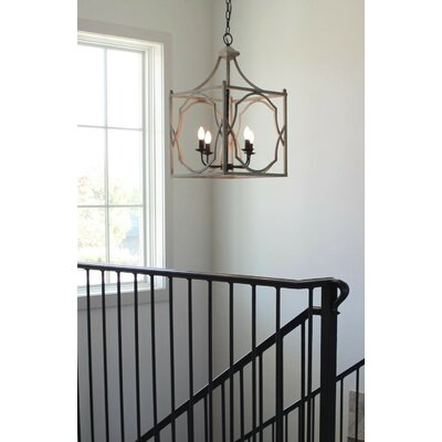 Nickalos 4-Light Foyer Pendant