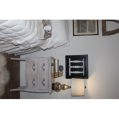 Judesa 2 Drawer Nightstand