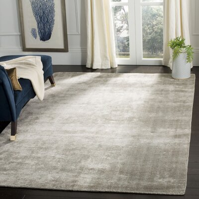 Irvona Gray Area Rug Rug Size: Rectangle 6 x 9