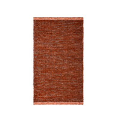 Marciano Hand-Woven Apricot Indoor/Outdoor Area Rug Rug Size: Rectangle 6 x 9