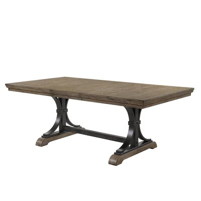 Tavant Nailhead Leaf Dining Table