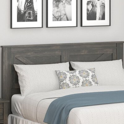 Cleveland Queen Panel Headboard Color: Weathered Oak