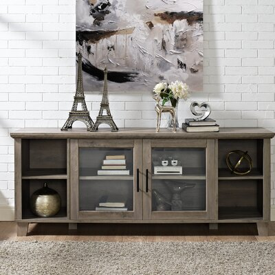 Wingert 58 TV Stand Color: Gray Wash