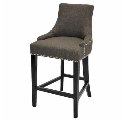 Minisink 26 Bar Stool Upholstery: Toffee