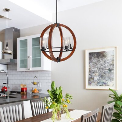Landover 4-Light Candle-Style Chandelier