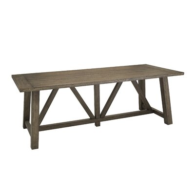 Woodworth Trestle Dining Table