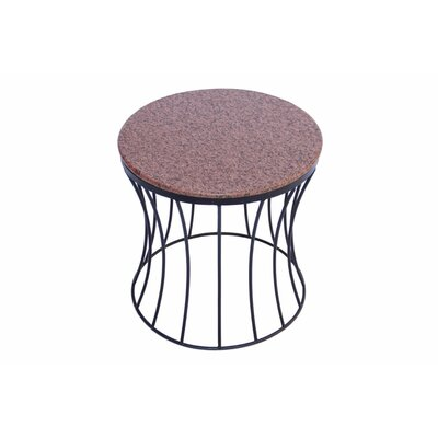 Bellamy Contemporary Style Iron End Table
