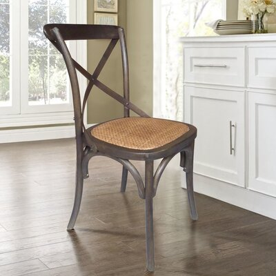 Glenoe Weathered Dining Chair Finish: Espresso