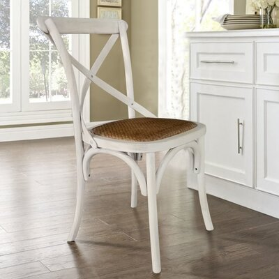 Glenoe Weathered Dining Chair Finish: White Wash
