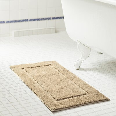 Raelene 2 Piece Bath Rug Set Color: Beige
