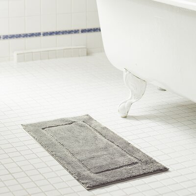 Raelene 2 Piece Bath Rug Set Color: Silver