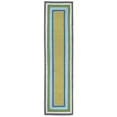 Bockman Seaside Border Indoor/Outdoor Area Rug Rug Size: 76 x 96