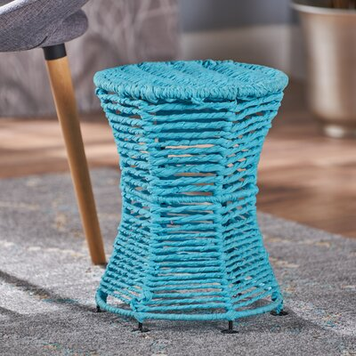 Radu End Table Color: Blue