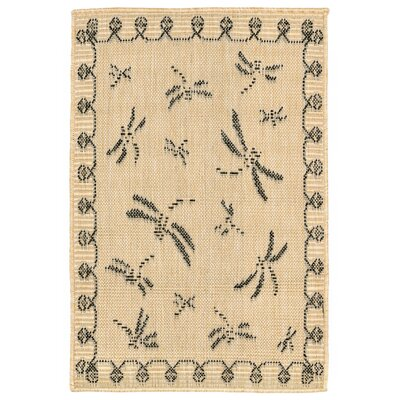 Clatterbuck Brown Indoor/Outdoor Area Rug Rug Size: Rectangle 111 x 211
