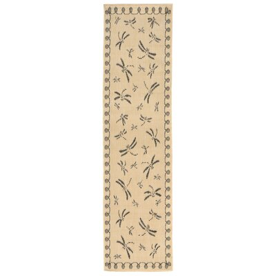 Clatterbuck Brown Indoor/Outdoor Area Rug Rug Size: Runner 111 x 76
