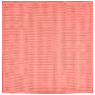 Clatterbuck Orange Texture Indoor/Outdoor Area Rug Rug Size: Square 710