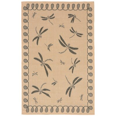 Clatterbuck Brown Indoor/Outdoor Area Rug Rug Size: Rectangle 410 x 76