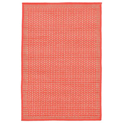 Clatterbuck Orange Texture Indoor/Outdoor Area Rug Rug Size: Rectangle 111 x 211