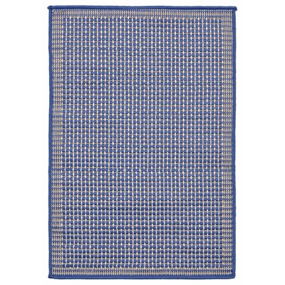 Clatterbuck Texture Blue Indoor/Outdoor Area Rug Rug Size: Rectangle 111 x 211