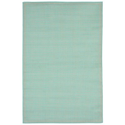 Clatterbuck Aquamarine Indoor/Outdoor Area Rug Rug Size: Rectangle 410 x 76