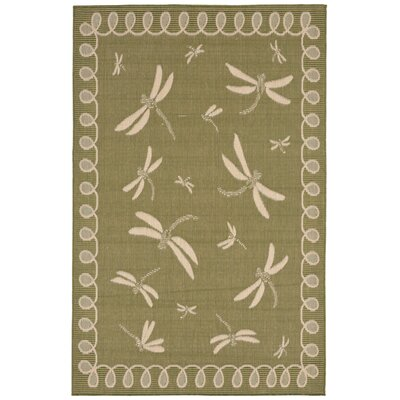 Clatterbuck Green Indoor/Outdoor Area Rug Rug Size: Rectangle 410 x 76