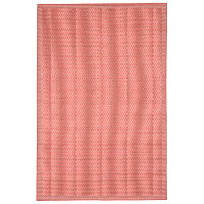 Clatterbuck Orange Texture Indoor/Outdoor Area Rug Rug Size: Rectangle 410 x 76
