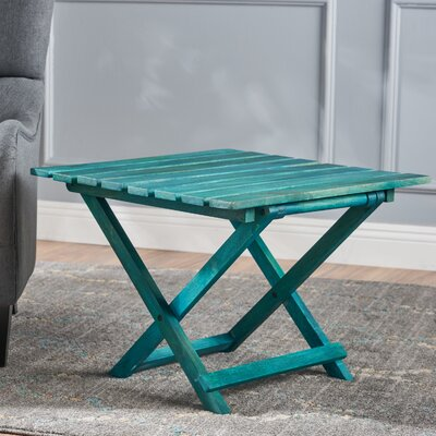 Schanya Wood Foldable End Table