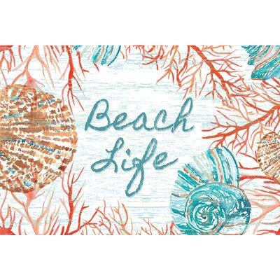 Bannock Beach Life Doormat