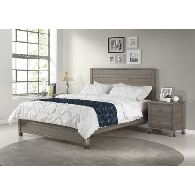 Cathryn Platform Bed Color: Rustic Gray, Size: King
