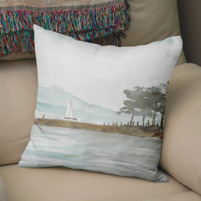 Roseline Throw Pillow Size: 24 H x 24 W x 6 D