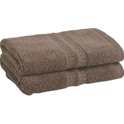 Wyrick Solid Washcloth Color: Plum Truffle