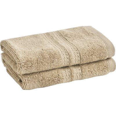 Wyrick Solid Washcloth Color: Stone