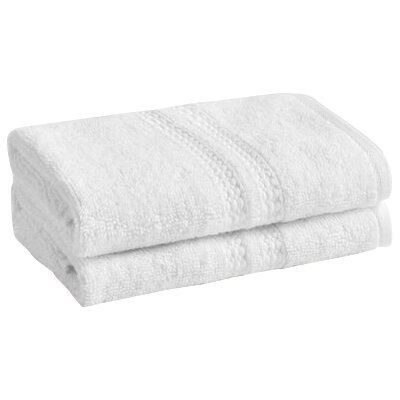 Wyrick Solid Washcloth Color: Bright White