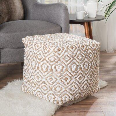 Sheldon Pouf Upholstery: Ivory