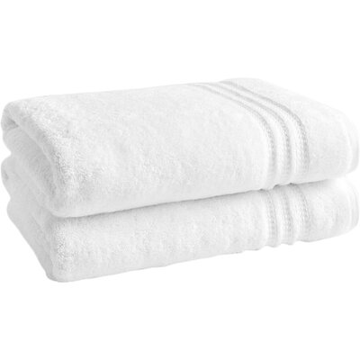Wyrick Solid Bath Towel Color: Bright White