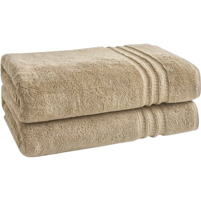Wyrick Solid Bath Towel Color: Stone