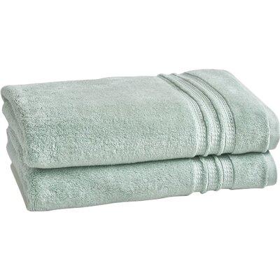 Wyrick Solid Bath Towel Color: Sterling Blue