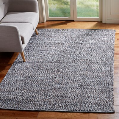 Alberta Hand-Woven Gray Area Rug Rug Size: Rectangle 5 x 8