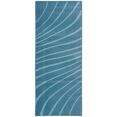 Leonor�Dark Blue Area Rug Rug Size: Runner 11 x 46