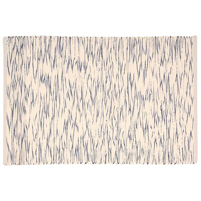 Astley Blue/Cream Area Rug Rug Size: Rectangle 26 x 4