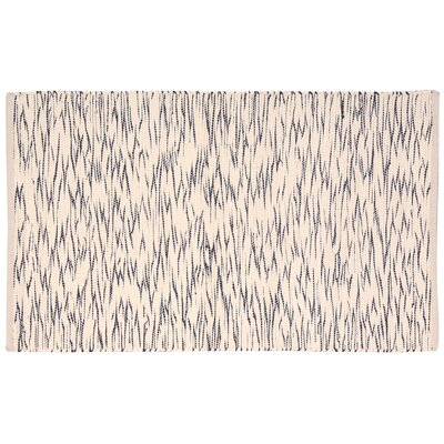 Astley Black/Cream Area Rug Rug Size: Rectangle 26 x 4