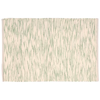Astley Green/Cream Area Rug Rug Size: Rectangle 2 x 3