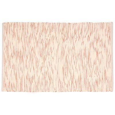 Astley Orange/Cream Area Rug Rug Size: Rectangle 2 x 3