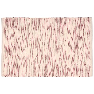 Astley Red/Cream Area Rug Rug Size: Rectangle 2 x 3