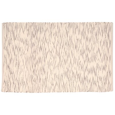 Astley Cream/Brown Area Rug Rug Size: Rectangle 2 x 3